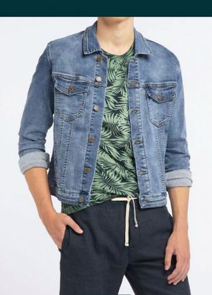 Піджак джинсовий чоловічий broadway 0062