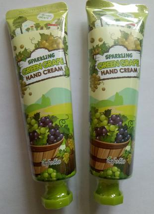 Крем для рук Esfolio Зеленый виноград 60 мл. Корея