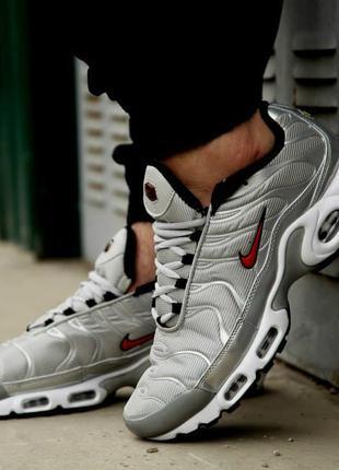 Мужские кроссовки Nike Air Max Tn + Silver(41-46р)