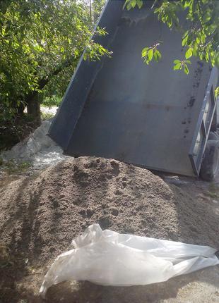Песок,отсев,щебень,вывоз мусора