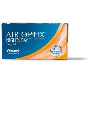 Лінзи Линзы Air Optix Night & Day AQUA