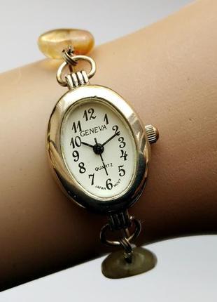 Geneva классика часы из сша браслет из камней механизм japan sii