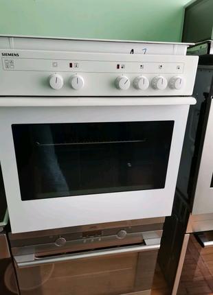 Комбинированная плита Siemens варочная поверхность +духовка
