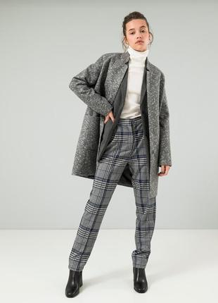 Осеннее женское пальто season светло-серого цвета