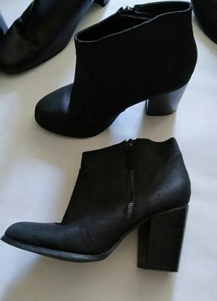 Кожаные ботинки atmosphere