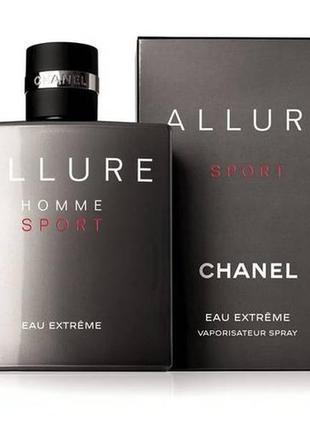 Chanel allure homme sport 100ml тестер/оригинал