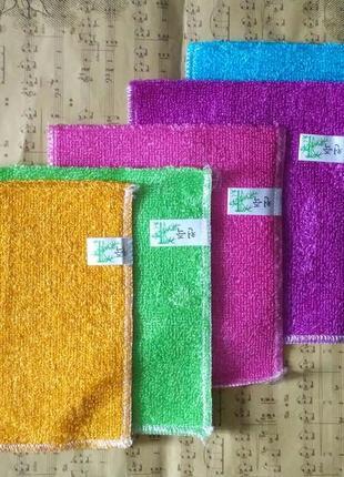 Меламиновые губки, бамбуковые губки /салфетки для мытья без химии