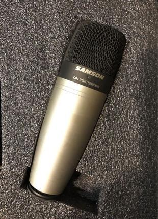 Студийный конденсаторный микрофон Samson C01 (+паук)