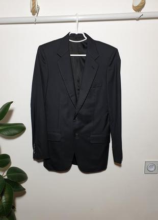 Пиджак prada шерсть с шелком