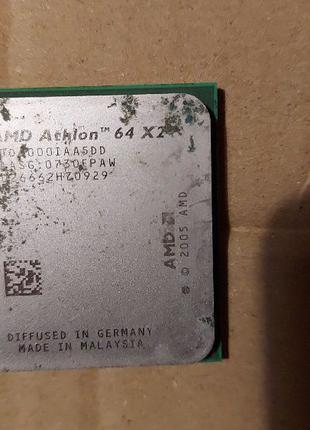 Процессор AMD Athlon 64 X2 нерабочий