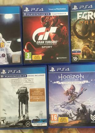 Игры на дисках для PS4