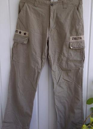 Трекинговые штаны пояс petroleum 32 р. пояс 86 см
