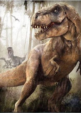 Набор для алмазной вышивки живописи мозаики динозавр