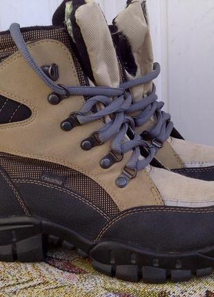 Утепленные треккинговые ботинки casualtex