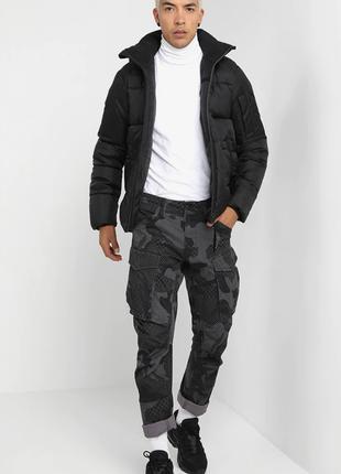 Куртка g-star raw зимняя xs -s