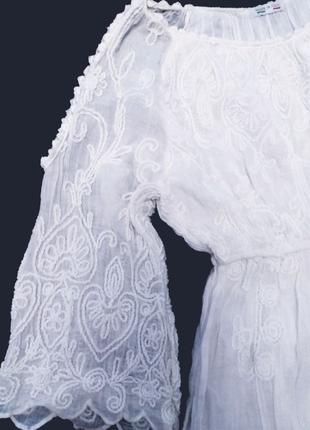 вышитое платье Италия