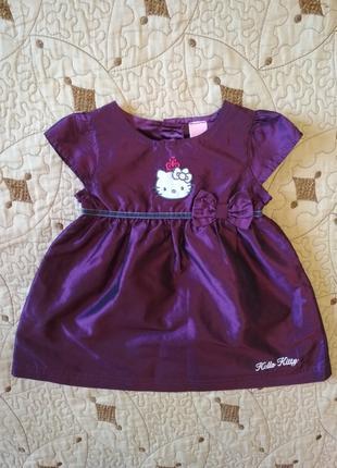 Сукня Hello Kitty плаття для дівчинки платье на девочку