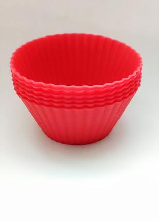 Формочки силикон для кексов