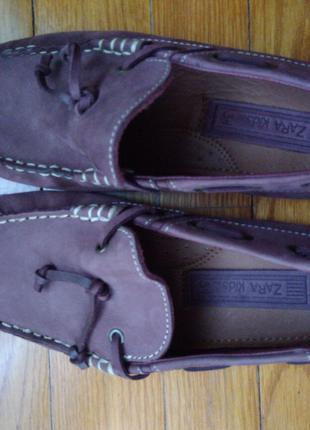 Мокасини хлопчачі,дівчачі(унісекс)34 розмір,Zara