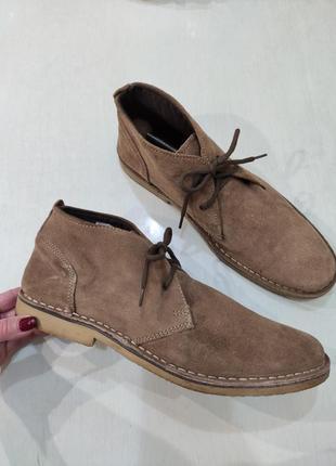 Matalan мужские демисезонные замшевые ботинки, 44
