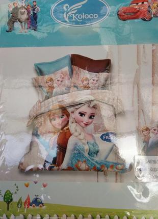Фланелевое постельное белье! холодное сердце! шикарное качество!