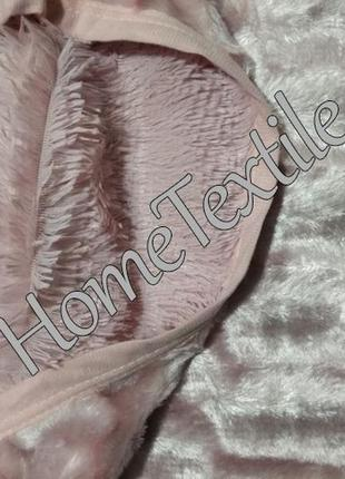 Плед норка 220х240 розовый