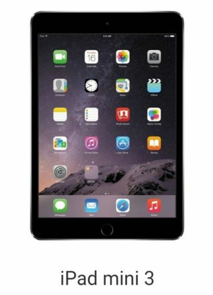 IPad mini 3 16 gb.