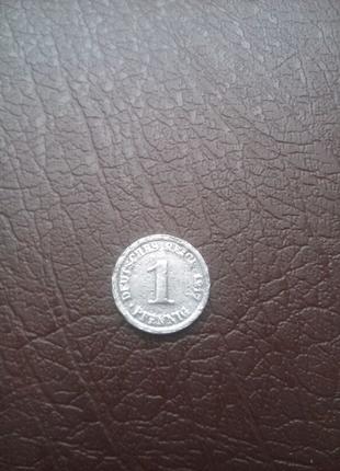 Монета Германии 1917 года