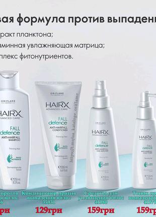 Набор против выпадения волос
