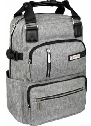 """Рюкзак-сумка 2в1 Optima деловой 14,5"""" с отделением для ноутбука с"""