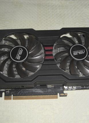 Asus DirectCu 2ГБ GDDR5 Geforce GTX 660 192bit двухкуллерная
