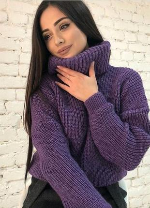 Молодежный свитер#свитер вязаный#стильный свитер