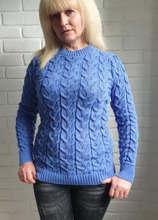 Свитер вязаный молодежный свитер разные расцветки