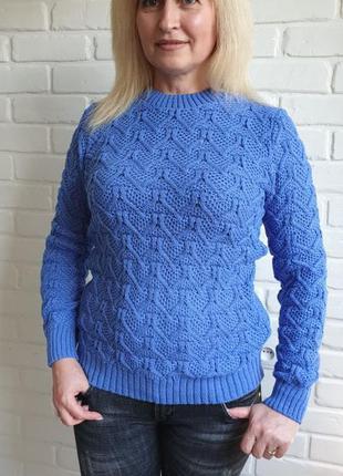 Свитер вязаный трикотажный свитер разные расцветки