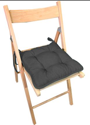 Подушка на стул / табурет квадратная серия rainbow 36х36х5