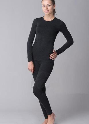 Термобелье термокомплект женский kifa кофта водолазка и штаны ...