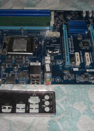 Pentium G2020 + материнская плата Socket 1155 Gigabyte GA-Z77-DS3