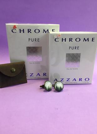 Azzaro chrome pure чоловіча туалетна вода