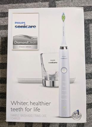 Зубная щётка Philips Sonicare DiamondClean Classic HX9331/43