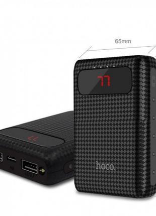 Внешний аккумулятор Power bank HOCO B20 Mige 10000 mAh батарея за