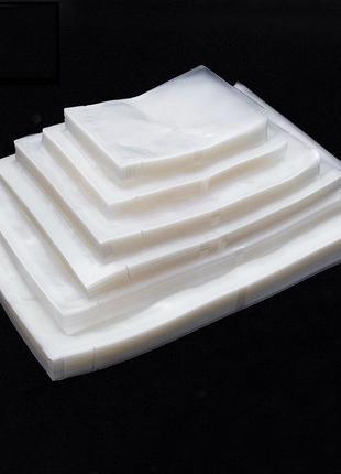 Пакети кульки для вакууматора оптом. Вакуумна упаковка 60мкм