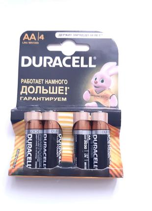 Батарейки Duracell LR6/AA (MN1500) лужні