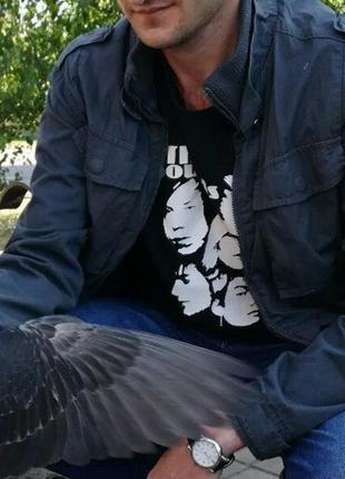 Мужская куртка бомбер ветровка курточка осенняя весенняя обмен