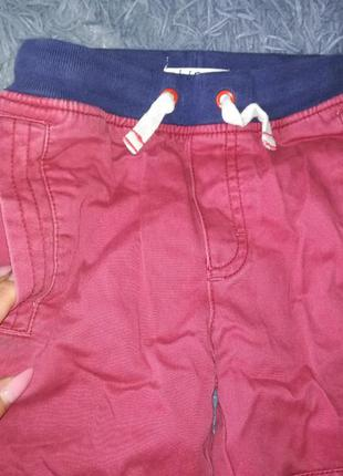 Красные утепленные штаны обмен джинсы джоггеры карго тёплые