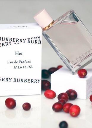 Burberry Her Оригинал EDP  7 мл Затест_парф.вода