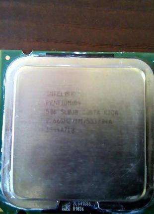 Процессор Intel 2,6 GHz  Socket 775