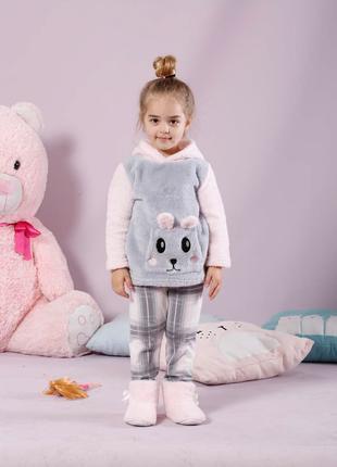 Детская теплая пижама на 10-11 лет