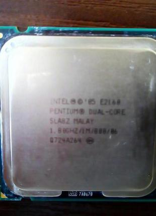 Процессор Рабочий Core2Duo E2160 1.8 GHz Socket 775