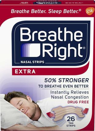 Пластырь от храпа Breathe Right