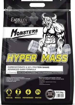Гейнер Monsters Hyper Mass 30 % Protein